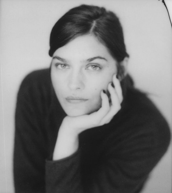 Amber Anderson, black and white Instax film, 2021
